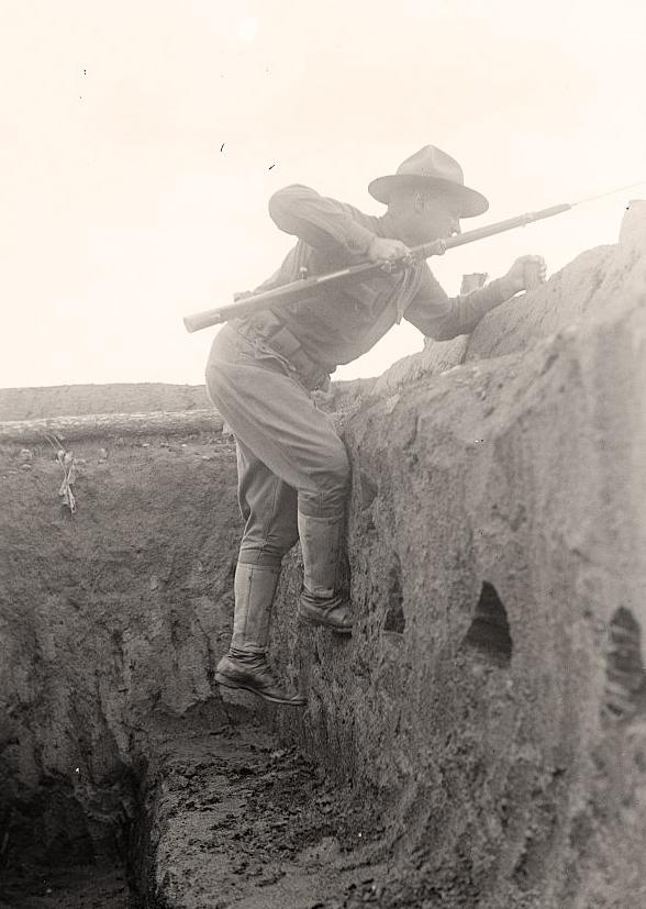 Climbing-Soldier-Trench-Out